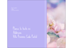 Arrangement floral Étiquettes d'expédition - gabarit prédéfini. <br/>Utilisez notre logiciel Avery Design & Print Online pour personnaliser facilement la conception.