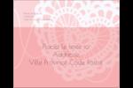 Saint-Valentin au crochet Étiquettes d'expédition - gabarit prédéfini. <br/>Utilisez notre logiciel Avery Design & Print Online pour personnaliser facilement la conception.