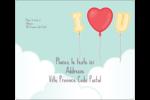 Ballon d'amour de Saint-Valentin Étiquettes d'expédition - gabarit prédéfini. <br/>Utilisez notre logiciel Avery Design & Print Online pour personnaliser facilement la conception.