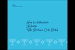 Chandelier de Hanoukka Étiquettes d'expédition - gabarit prédéfini. <br/>Utilisez notre logiciel Avery Design & Print Online pour personnaliser facilement la conception.