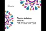 Ruban Divali Étiquettes d'expédition - gabarit prédéfini. <br/>Utilisez notre logiciel Avery Design & Print Online pour personnaliser facilement la conception.
