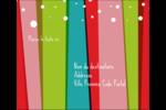 Rayures de Noël rétro Étiquettes d'expédition - gabarit prédéfini. <br/>Utilisez notre logiciel Avery Design & Print Online pour personnaliser facilement la conception.