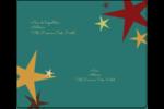 Étoiles du Nouvel An Étiquettes d'expédition - gabarit prédéfini. <br/>Utilisez notre logiciel Avery Design & Print Online pour personnaliser facilement la conception.