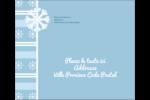 Les gabarits Flocon de neige bleu pour votre prochain projet des Fêtes Étiquettes d'expédition - gabarit prédéfini. <br/>Utilisez notre logiciel Avery Design & Print Online pour personnaliser facilement la conception.