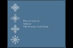 Les gabarits Flocons de neige pour votre prochain projet des Fêtes Étiquettes d'expédition - gabarit prédéfini. <br/>Utilisez notre logiciel Avery Design & Print Online pour personnaliser facilement la conception.