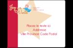 Ange pieux Étiquettes d'expédition - gabarit prédéfini. <br/>Utilisez notre logiciel Avery Design & Print Online pour personnaliser facilement la conception.