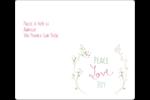 Les gabarits Paix, amour et joie pour votre prochain projet créatif des Fêtes Étiquettes d'expédition - gabarit prédéfini. <br/>Utilisez notre logiciel Avery Design & Print Online pour personnaliser facilement la conception.