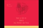 Année du coq Étiquettes d'expédition - gabarit prédéfini. <br/>Utilisez notre logiciel Avery Design & Print Online pour personnaliser facilement la conception.