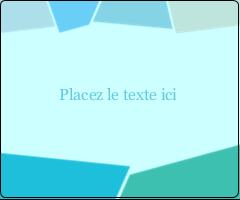 """3⅓"""" x 4"""" Étiquettes d'expédition - Palette de couleurs froides"""