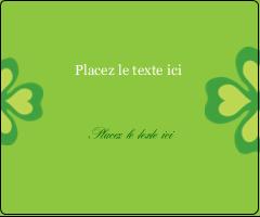 """3⅓"""" x 4"""" Étiquettes d'expédition - Saint-Patrick"""