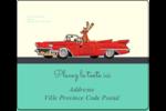 Renne en décapotable Étiquettes d'expédition - gabarit prédéfini. <br/>Utilisez notre logiciel Avery Design & Print Online pour personnaliser facilement la conception.