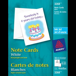 Avery® Cartes de notes