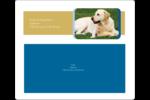 Soins aux animaux de compagnie Étiquettes d'expédition - gabarit prédéfini. <br/>Utilisez notre logiciel Avery Design & Print Online pour personnaliser facilement la conception.