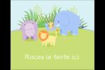 Bébé safari Étiquettes d'expédition - gabarit prédéfini. <br/>Utilisez notre logiciel Avery Design & Print Online pour personnaliser facilement la conception.