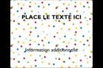Confettis d'anniversaire Étiquettes d'expédition - gabarit prédéfini. <br/>Utilisez notre logiciel Avery Design & Print Online pour personnaliser facilement la conception.
