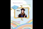 Fantaisie et diplôme Carte Postale - gabarit prédéfini. <br/>Utilisez notre logiciel Avery Design & Print Online pour personnaliser facilement la conception.