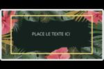 Noël tropical Étiquettes D'Identification - gabarit prédéfini. <br/>Utilisez notre logiciel Avery Design & Print Online pour personnaliser facilement la conception.