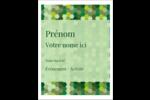 Hexagones verts Étiquettes badges autocollants - gabarit prédéfini. <br/>Utilisez notre logiciel Avery Design & Print Online pour personnaliser facilement la conception.