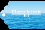 Ciel-océan Étiquettes imprimables - gabarit prédéfini. <br/>Utilisez notre logiciel Avery Design & Print Online pour personnaliser facilement la conception.