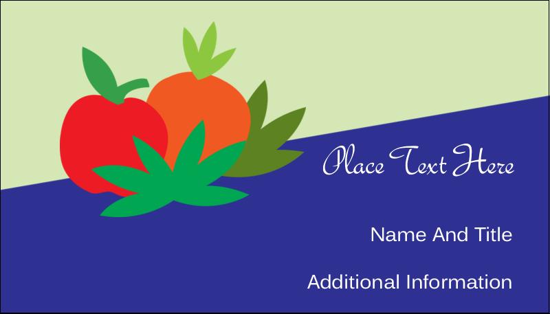 "2"" x 3½"" Business Card - Juice Prep"