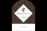 Raisins Étiquettes arrondies - gabarit prédéfini. <br/>Utilisez notre logiciel Avery Design & Print Online pour personnaliser facilement la conception.