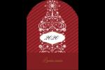 Bouteille de champagne en spirale Étiquettes arrondies - gabarit prédéfini. <br/>Utilisez notre logiciel Avery Design & Print Online pour personnaliser facilement la conception.