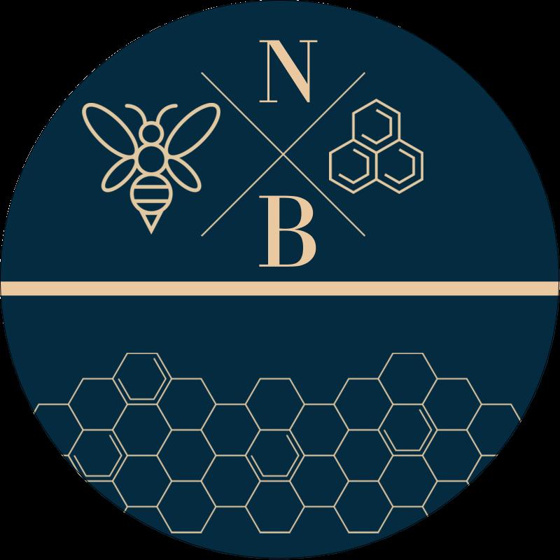 Alvéole d'abeille Étiquettes rondes - gabarit prédéfini. <br/>Utilisez notre logiciel Avery Design & Print Online pour personnaliser facilement la conception.