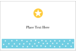 Your custom project will shine brightly with pre-designed Blue Yellow Stars templates.