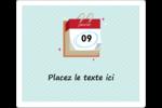 Calendrier d'anniversaire Étiquettes d'expédition - gabarit prédéfini. <br/>Utilisez notre logiciel Avery Design & Print Online pour personnaliser facilement la conception.