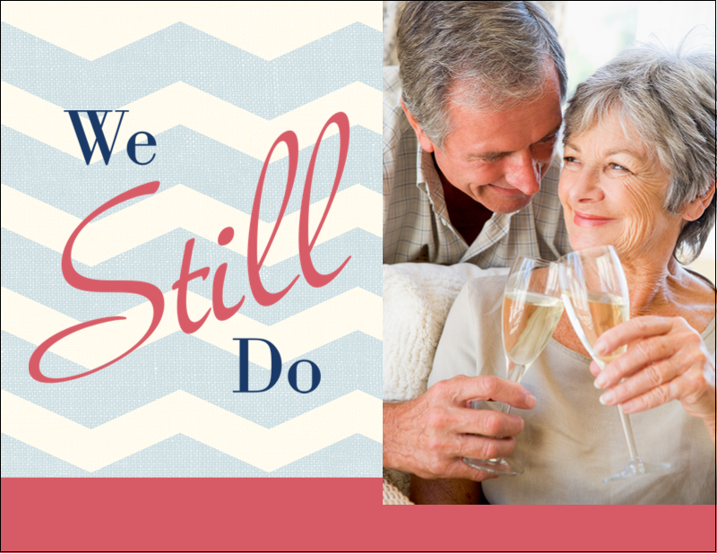 "5½"" x 4¼"" Postcard - Anniversary Still Do"
