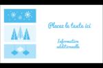 Les gabarits Pays des merveilles hivernales rétro pour votre prochain projet créatif Cartes d'affaires - gabarit prédéfini. <br/>Utilisez notre logiciel Avery Design & Print Online pour personnaliser facilement la conception.