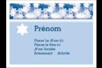 Étoile de David Judaism Étiquettes badges autocollants - gabarit prédéfini. <br/>Utilisez notre logiciel Avery Design & Print Online pour personnaliser facilement la conception.