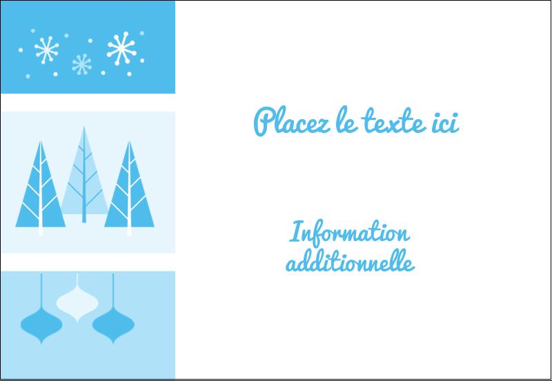 """3⅜"""" x 2⅓"""" Badges - Les gabarits Pays des merveilles hivernales rétro pour votre prochain projet créatif"""