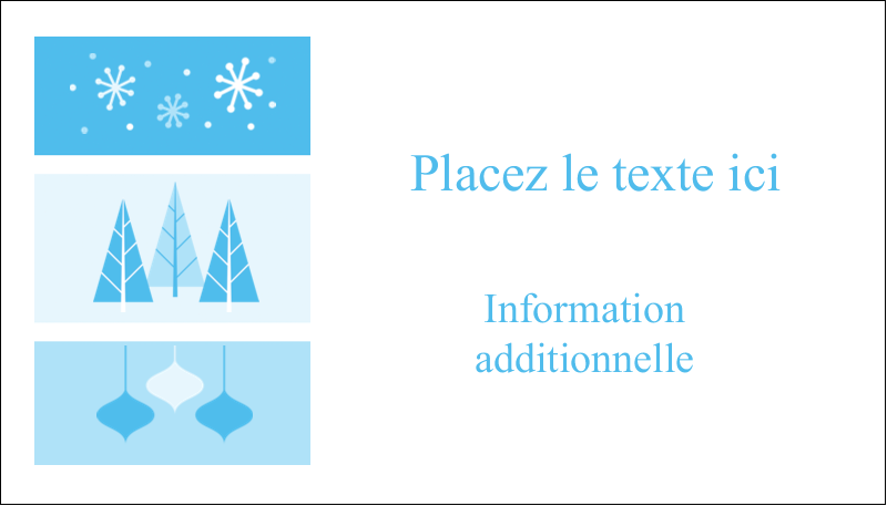 """2"""" x 3½"""" Carte d'affaire - Les gabarits Pays des merveilles hivernales rétro pour votre prochain projet créatif"""