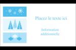 Les gabarits Pays des merveilles hivernales rétro pour votre prochain projet créatif Carte d'affaire - gabarit prédéfini. <br/>Utilisez notre logiciel Avery Design & Print Online pour personnaliser facilement la conception.