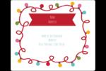Les gabarits Lumières de Noël pour votre prochain projet des Fêtes Étiquettes d'expédition - gabarit prédéfini. <br/>Utilisez notre logiciel Avery Design & Print Online pour personnaliser facilement la conception.