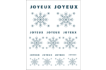 Flocons modernes en bleu marine Cartes Et Articles D'Artisanat Imprimables - gabarit prédéfini. <br/>Utilisez notre logiciel Avery Design & Print Online pour personnaliser facilement la conception.