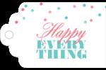 Les gabarits Happy Everything pour votre prochain projet Étiquettes imprimables - gabarit prédéfini. <br/>Utilisez notre logiciel Avery Design & Print Online pour personnaliser facilement la conception.