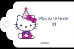 Hello Kitty Anniversaire Étiquettes imprimables - gabarit prédéfini. <br/>Utilisez notre logiciel Avery Design & Print Online pour personnaliser facilement la conception.
