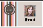 Mortier de diplômé Cartes de souhaits pliées en deux - gabarit prédéfini. <br/>Utilisez notre logiciel Avery Design & Print Online pour personnaliser facilement la conception.