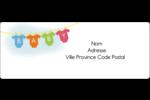 Combinaisons pour bébé Étiquettes d'adresse - gabarit prédéfini. <br/>Utilisez notre logiciel Avery Design & Print Online pour personnaliser facilement la conception.