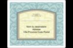 Vert d'antan Étiquettes d'expédition - gabarit prédéfini. <br/>Utilisez notre logiciel Avery Design & Print Online pour personnaliser facilement la conception.