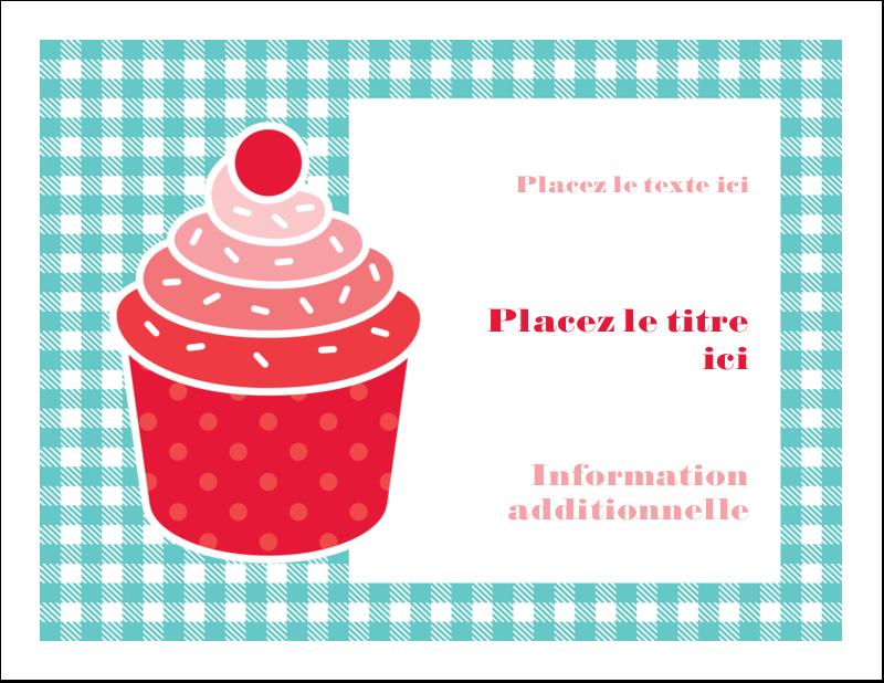 """4¼"""" x 5½"""" Cartes de notes - Ensemble pour petits gâteaux"""