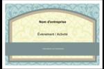 Vert d'antan Badges - gabarit prédéfini. <br/>Utilisez notre logiciel Avery Design & Print Online pour personnaliser facilement la conception.