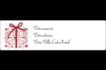 Cadeau tourbillonnant Étiquettes D'Adresse - gabarit prédéfini. <br/>Utilisez notre logiciel Avery Design & Print Online pour personnaliser facilement la conception.