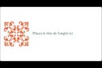 Concept Arc Orange Intercalaires / Onglets - gabarit prédéfini. <br/>Utilisez notre logiciel Avery Design & Print Online pour personnaliser facilement la conception.