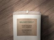 étiquettes de bougie en papier kraft
