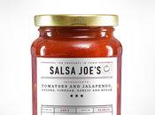 Custom salsa sauce label