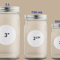 Canning Labels for Canadian Mason Jar Sizes
