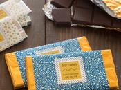 Étiquette de barre de chocolat